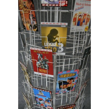 Prodejní stojan na 100 DVD / SO100A5