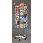 Velký otočný stojan na 70 DVD / formát A5 - SO70A5