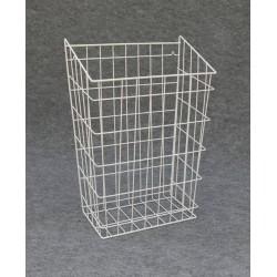 Koš na prádlo do skříňky 50 × 30 - bílý