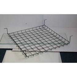 Závěsný koš pod lavici ( s háky, ukázka)