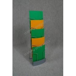 stojan 5A4 s opěrkou - zakázkový. ukázky